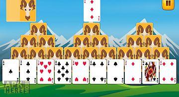 Tri peaks solitaire fun