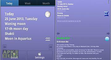 Best lunar calendar dara-lite