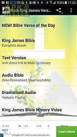 Bible king james audio & text for Android free download at Apk Here