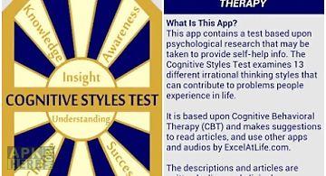 Cognitive styles cbt test