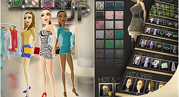Fashion dress up game