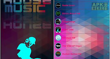 House music radio app