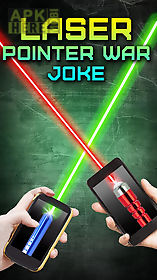 laser pointer war joke