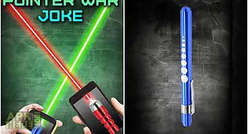 Laser pointer war joke