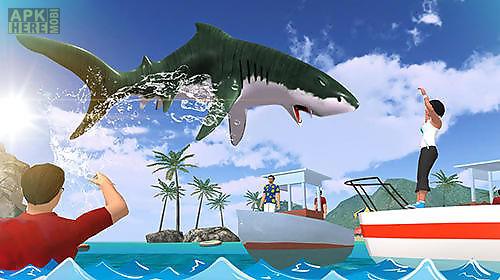 angry shark 2017: simulator game