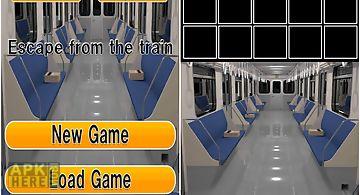 Escape from the train