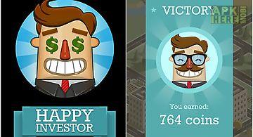 Happy investor