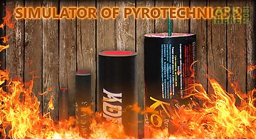 Simulator of pyrotechnics 2