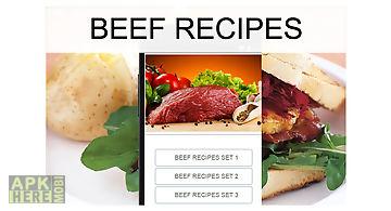 Beef recipes food