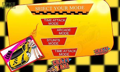 city crazy taxi ride 3d