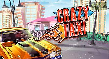 City crazy taxi ride 3d