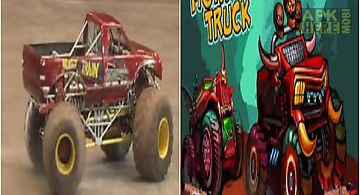 Crazy monster truck racer