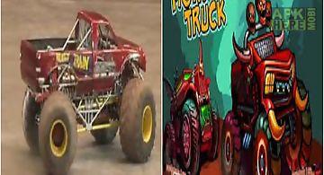 Crazy monster truck racer