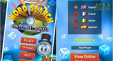 Word search international new