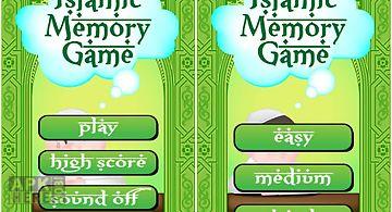 Islamic memory game