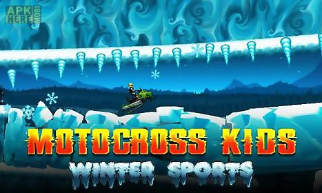 motocross kids: winter sports