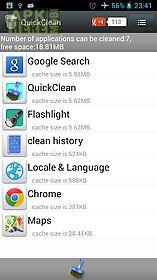 cache clear clean cache