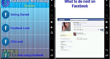 Free Birthday Reminder App ~ Facebook birthday reminder for android free download at apk here