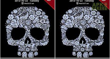 Flower skull go locker