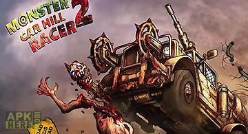 Monster car: hill racer 2