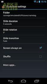 slideshow for smartwatch