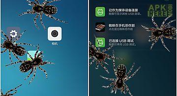 Spider in phone joke