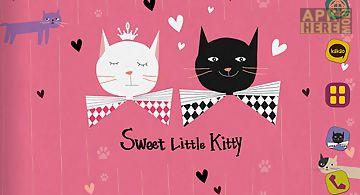 Sweet kitty atom theme