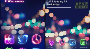 Tonight go launcher theme