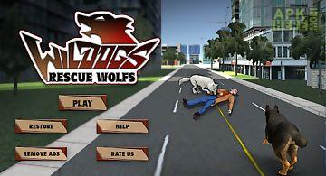 Police dog vs wild wolves