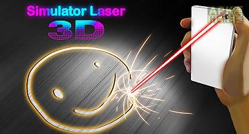Simulator laser 3d