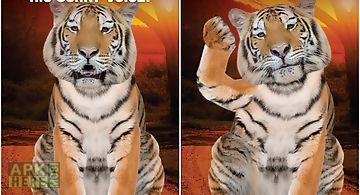 Talking tiger