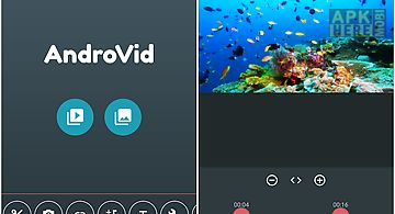 Androvid - video editor