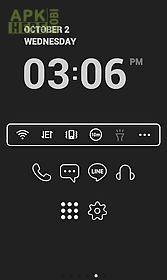 super simple black dodol theme