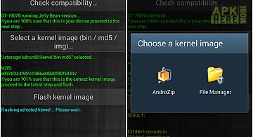 Universal kernel flash (free)