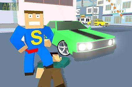car craft blocky city racer