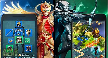 Elemental heroes: rpg with pvp
