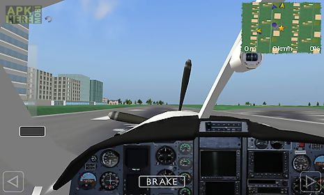 Flight sim for Android free download at Apk Here store - Apktidy com