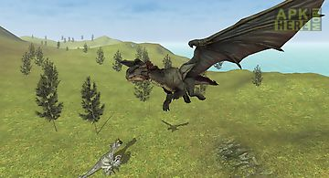 Flying fury dragon simulator