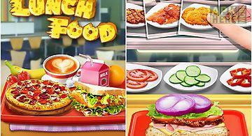 Make lunch box: kids food game