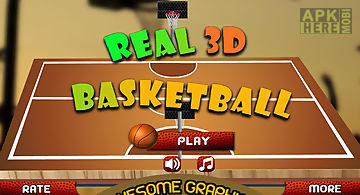 Real 3d basketball : full game
