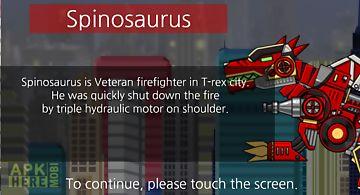 Spinosaurus - dino robot