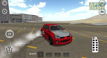Sport tuning car drift