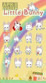 kika little bunny sticker gif