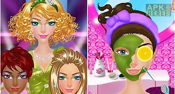Star fashion girl - beauty spa