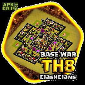 th8 war base coc 2016