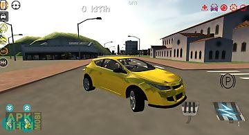 Car driver simulator 3d