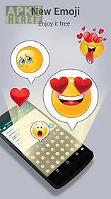 extra colorful emoji keyboard