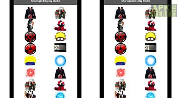 Sharingan camera ninja cosplay
