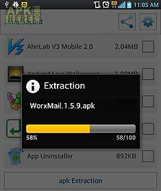 app extraction