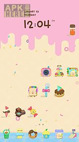 candyhouse line launcher theme